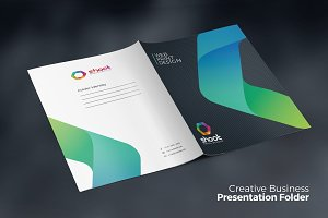 Business Presentation Folder