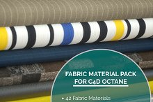 42 Fabric Materials for C4D Octane  by  in Fabric
