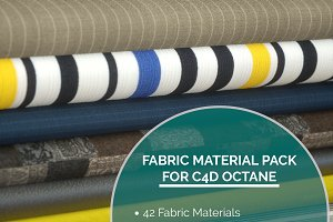 42 Fabric Materials for C4D Octane