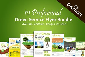 10 Save Energy Flyer Bundle Vol:01