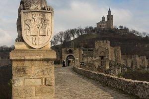 Tsarevets Fortress in Veliko Turnovo, Bulgaria.