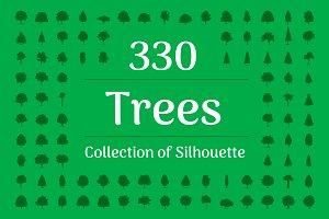 330 Tree Silhouette