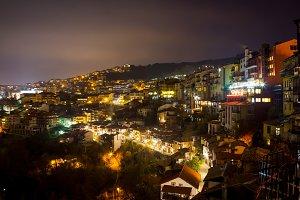 Veliko Tarnovo city in winter