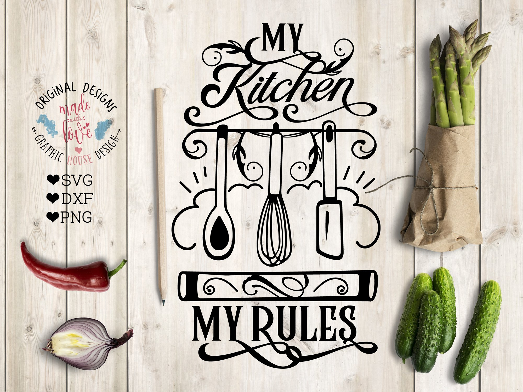 21+ Split Kitchen Svg File Cutting Files Cricut & Cameo Kitchen Utensils Silhouette Svg Cooking Food Stickers Clipart Tools Clip Art -571S DXF