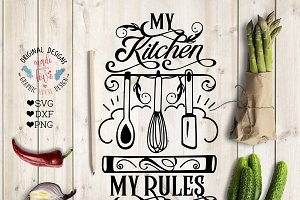 My Kitchen My Rules Cut File