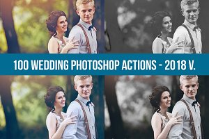 2018 Best Wedding Photoshop Actions