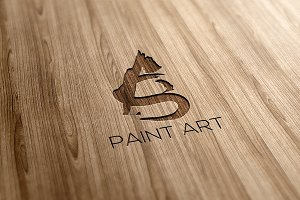 Paint Art Logo Design