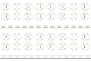 White tribal seamless  pattern.