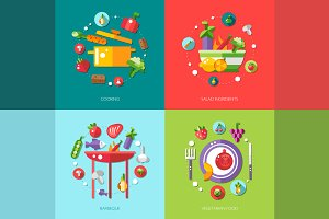 Food Infographic Illustrations