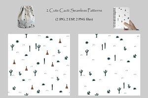 Wild Cacti Landscape