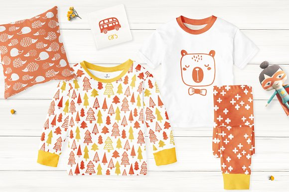 51 kids patterns, for boys & girls! in Patterns - product preview 8