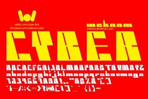 Cyber Font