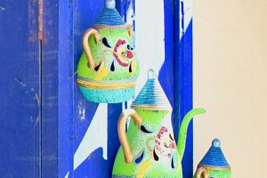 Pottery & Blue Door, Panama
