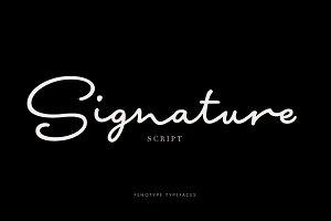 Signature Script Intro Sale