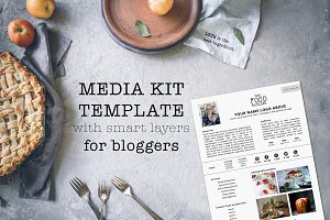 Media Kit Template for Bloggers