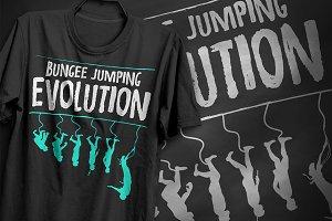 Bungee jumping - T-Shirt Design
