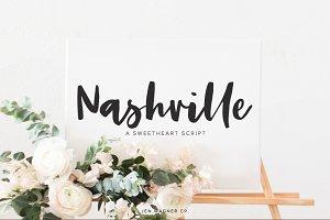 Nashville | A Sweetheart Script