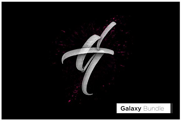 Galaxy Branding Bundle-Graphicriver中文最全的素材分享平台