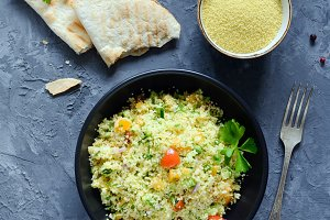 Lebanese cous cous salad Tabbouleh