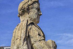 Statue of Julius Ceasar at Bath