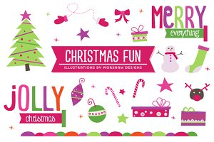 Christmas Fun | Clipart