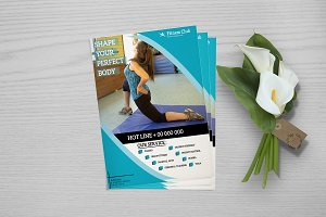 Fitness Flyer - Gym Flyer V749