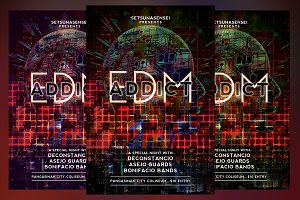 EDM Addict Flyer