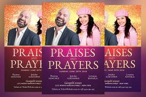 Praises and Prayers Flyer