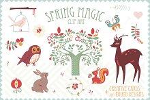 Spring Magic clip art