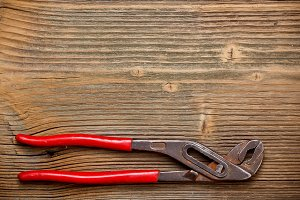 Old locking pliers