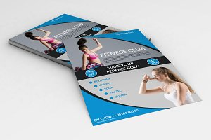 Fitness Flyer - Gym Flyer V750