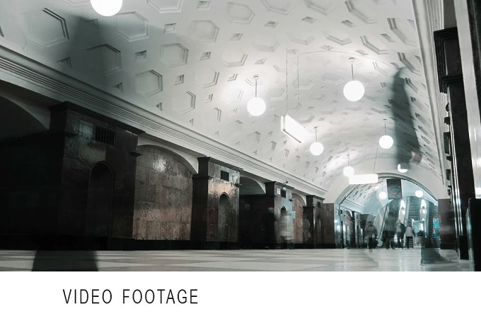 People at the metro. Time lapse. - Transportation