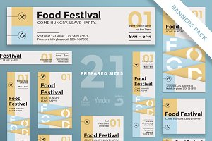 Banners Pack | Food Festival
