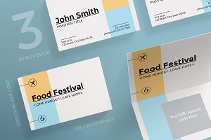 Business Cards | Food Festival