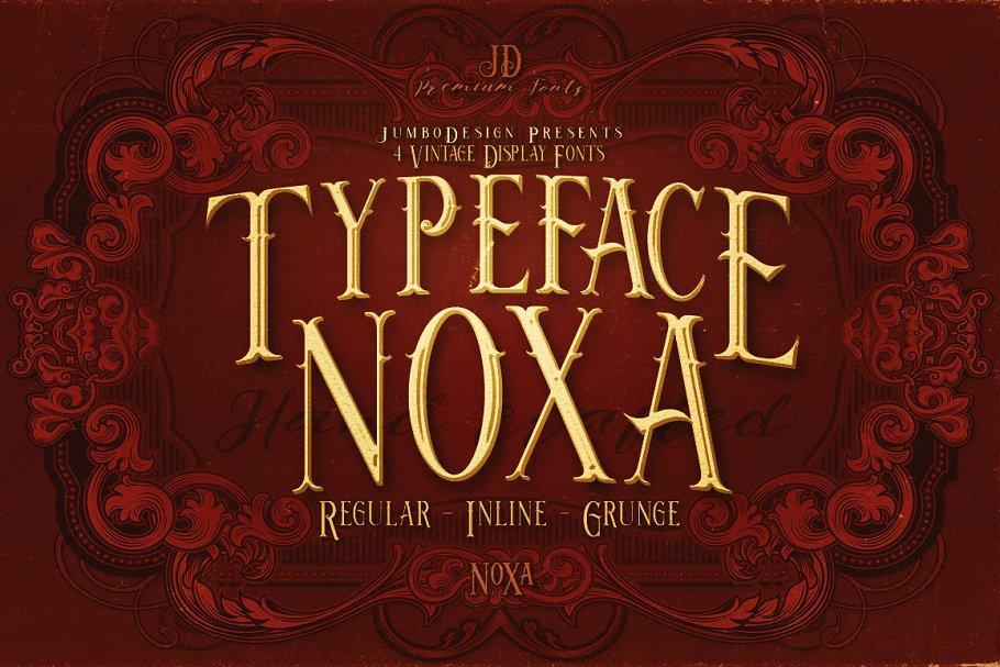 Noxa - Display Font