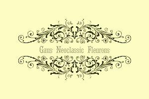 Gans Neoclassic Fleurons