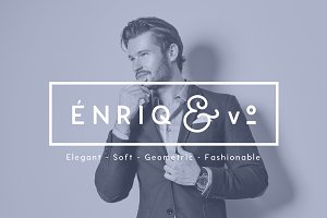 ENRIQ - Elegant Sans Serif Font