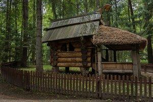 The hut on chicken legs