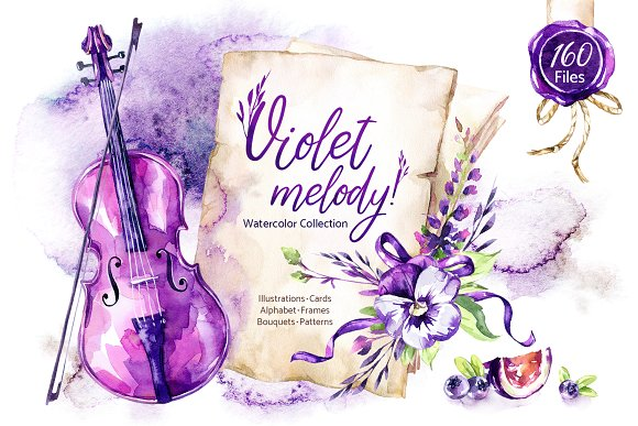 """""""Violet Melody"""" Collection"""