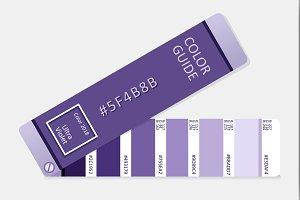 Ultra Violet Vector Palette Guide