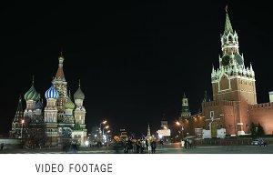 Kremlin and Basil's cathedral.