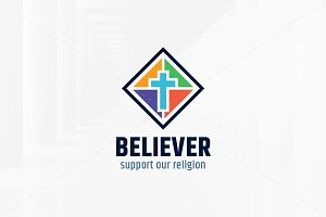 Believer Logo Template