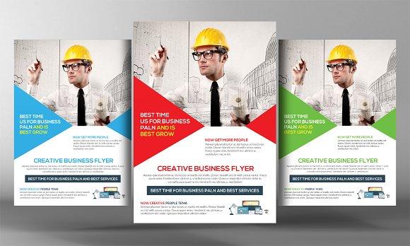 Plumber Service Flyer Flyer Templates Creative Market