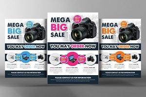 Product Flyer Psd Template