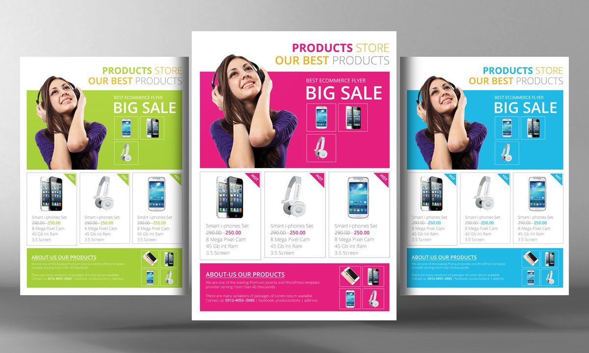 Products Flyer Template Flyer Templates Creative Market