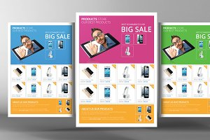 Products Sale Flyer Template