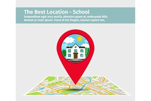 The best location school