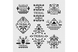 Tribal logos set
