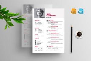Modern & Clean Clean Resume/CV