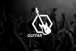 Logo template | GUITAR